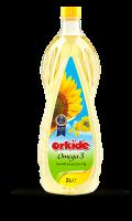 L'huile de mélange végétal